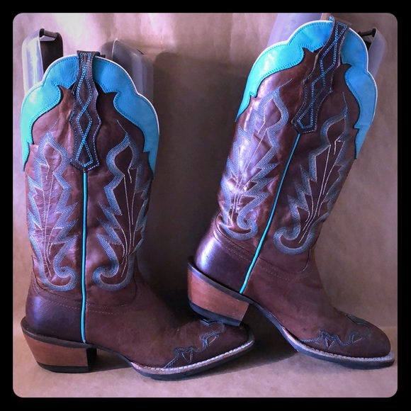 ARIAT Caballera Western Cowboy Square Toe Boot 10